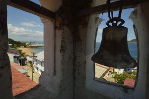 The Bell Tower of San Pedro Church on Taboga Island by Jonathan Kingston