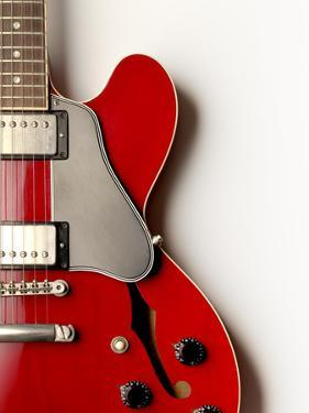 Electric Guitar from Above by Jonathan Kitchen