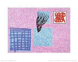 Love's Rhetoric, c.1990 by Jonathan Lasker