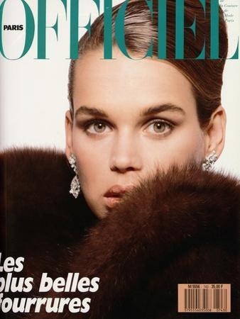 L'Officiel, November 1988 - Robyn Mackintosh by Jonathan Lennard
