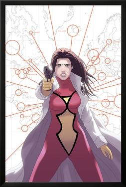 Spider Woman Origins No.4 Cover: Spider Woman by Jonathan Luna