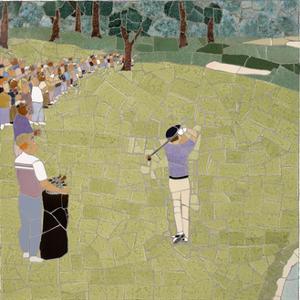 Golf Shot by Jonathan Mandell