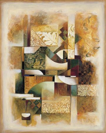 Abstract Collage I by Jonathan Parsons