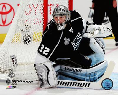 Jonathan Quick Game 1 of the 2014 Stanley Cup Finals Action