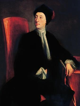Portrait of Matthew Prior, English Poet and Diplomat