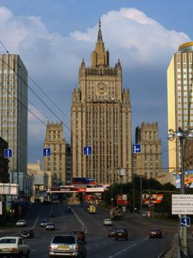 Central Tower of Foreign Affairs Ministry Building, Moscow, Russia by Jonathan Smith