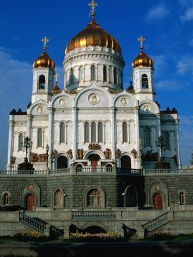 Christ the Saviour Cathedral, Moscow, Russia by Jonathan Smith