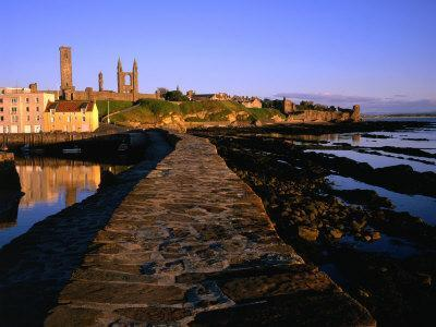 Early Morning on the Pier, St. Andrews, United Kingdom