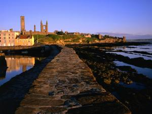 Early Morning on the Pier, St. Andrews, United Kingdom by Jonathan Smith