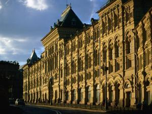 Late Evening at the Old Stock Exchange Building on Red Square, Moscow, Russia by Jonathan Smith