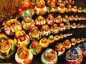 Matryoshka Dolls for Sale, Odesa, Ukraine by Jonathan Smith
