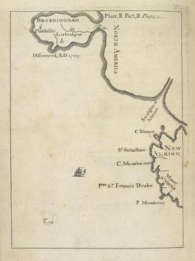 Travels into Several Remote Nations of the World in Four Parts, Plate II, Part II, Page 1, 1726 by Jonathan Swift
