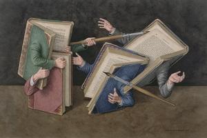 A Literary Joust, 2006 by Jonathan Wolstenholme