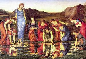 Jones - The mirror of Venus Art Print Poster