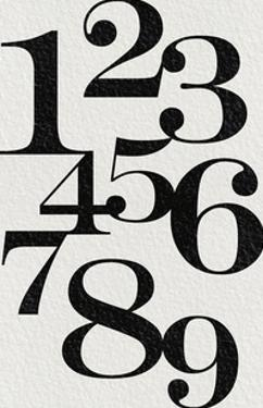 Numerical Fade by Joni Whyte
