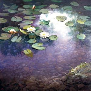 Waterlilies I by Joop Smits