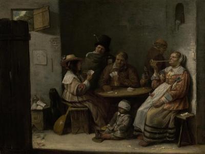 Card Players, c.1645 by Joos Van Craesbeeck
