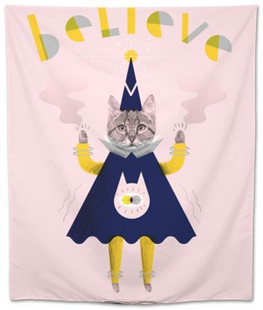 Inspirational Wizard Cat by Jordan Andrew Carter