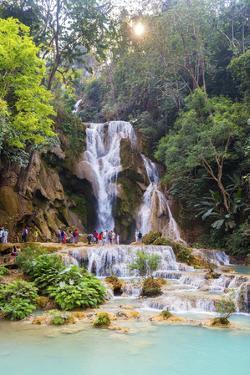 Kuang Si Waterfalls, Luang Prabang, Laos, Indochina, Southeast Asia, Asia by Jordan Banks