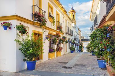 Spain, Andalusia, Estepona, Old town, Nuestra Senora de Los Remedios Church