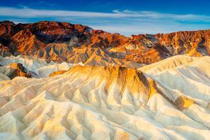 Sunrise at Zabriskie Point in Death Valley National Park, California by Jordana Meilleur
