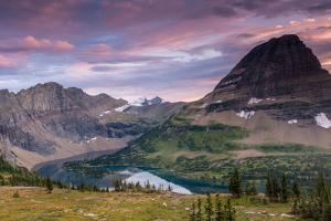 Sunset Sky over Hidden Lake. Glacier National Park, Montana by Jordi Elias Grassot
