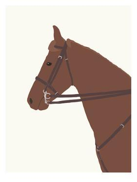 Police Horse by Jorey Hurley