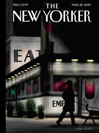 The New Yorker Cover - March 22, 2010 by Jorge Colombo