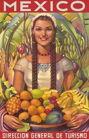 Direccion General de Turismo: Mexico - Plenty of Fruit by Jorge Gonzalez Camarena