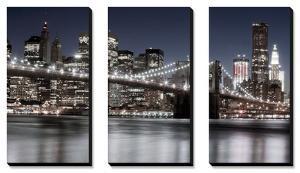Manhattan Reflections by Jorge Llovett