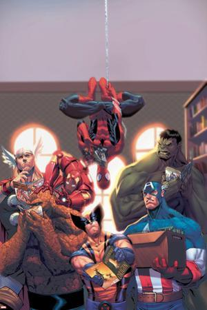 Marvel Reading Chronology 2009 Cover: Spider-Man by Jorge Molina