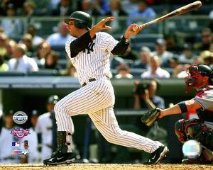 Jorge Posada 2009 1st Home Run at Yankee Stadium
