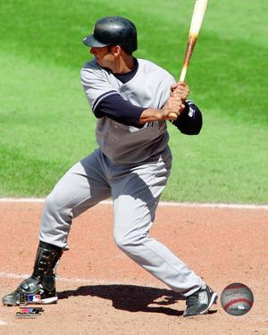 Jorge Posada - 2009 Batting Action
