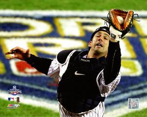 Jorge Posada Game Six of the 2009 MLB World Series Action