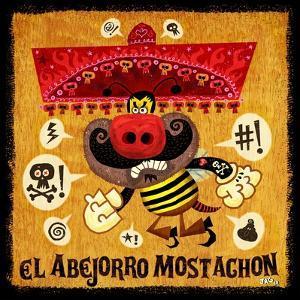 Abejorro Mostachon by Jorge R^ Gutierrez
