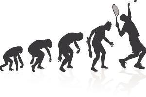 Evolution Of The Tennis Player by jorgenmac