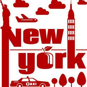 New York Typographical Abstract by jorgenmac