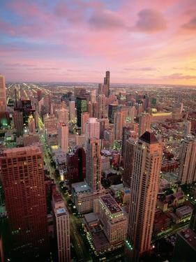 Downtown Chicago by Jos? Fuste Raga