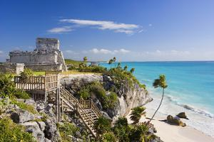 El Castillo of Tulum by Jos? Fuste Raga
