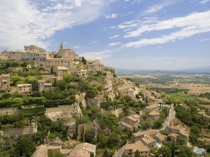 Hillside Town of Gordes in France by Jos? Fuste Raga