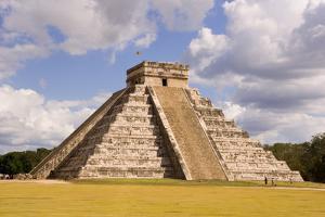 Pyramid of Kukulcan by Jos? Fuste Raga