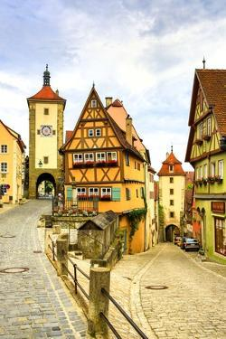 Rothenburg Ob Der Tauber by Jos? Fuste Raga