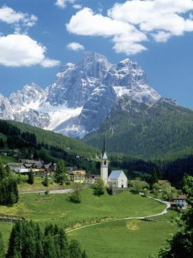 Selva di Cadore and Dolomite Alps by Jos? Fuste Raga