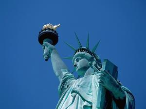 Statue of Liberty From Below by Jos? Fuste Raga