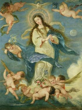 The Immaculate Conception by Jose Antolinez