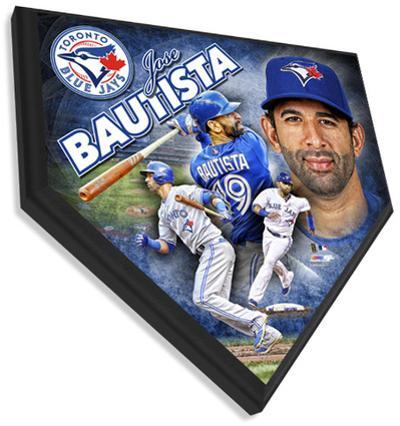 Jose Bautista Home Plate Plaque