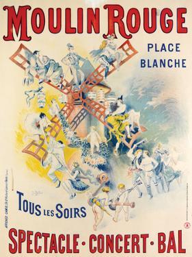 1902- Réouverture Moulin Rouge by Jose Belon