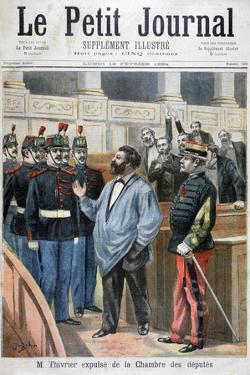 Christophe Thivrier Expelled from the Chamber of Deputies, Paris, 1894 by Jose Belon
