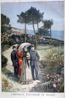Franz Joseph I, Emperor of Austria, on a Visit to France, 1894 by Jose Belon