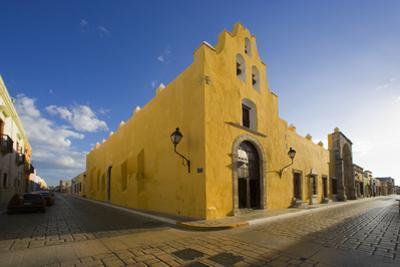 A Street Corner in Campeche by José Fuste Raga